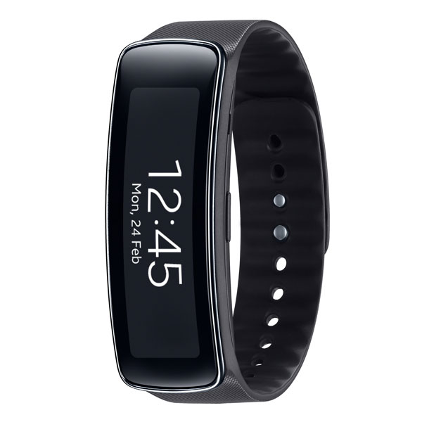 samsung galaxy gear fit noir montre connect e samsung sur. Black Bedroom Furniture Sets. Home Design Ideas