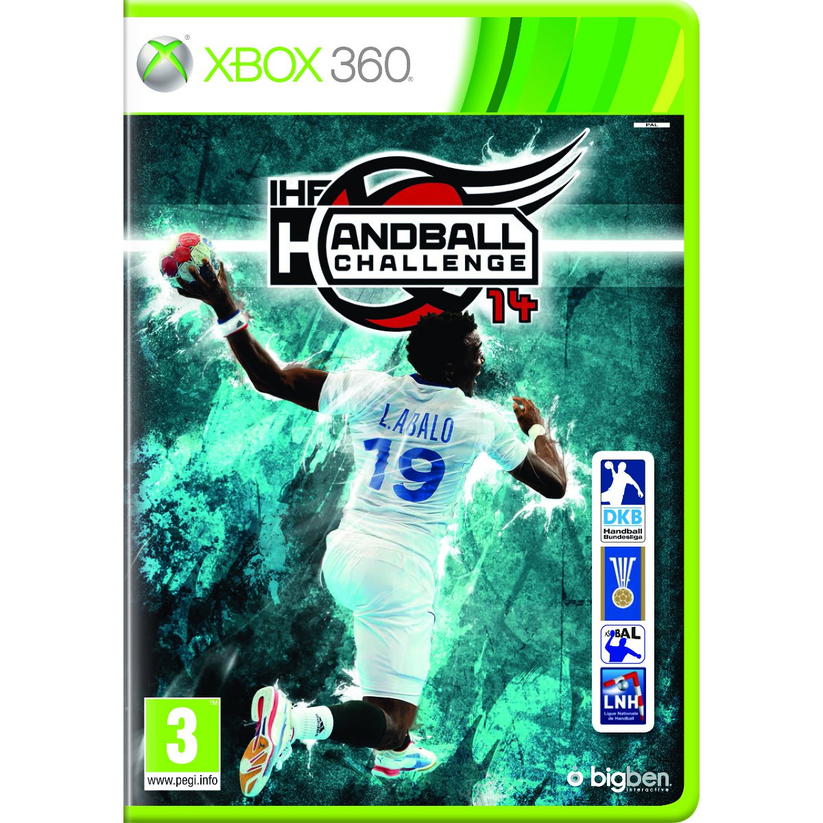 handball challenge 2014 xbox 360 jeux xbox 360 bigben. Black Bedroom Furniture Sets. Home Design Ideas