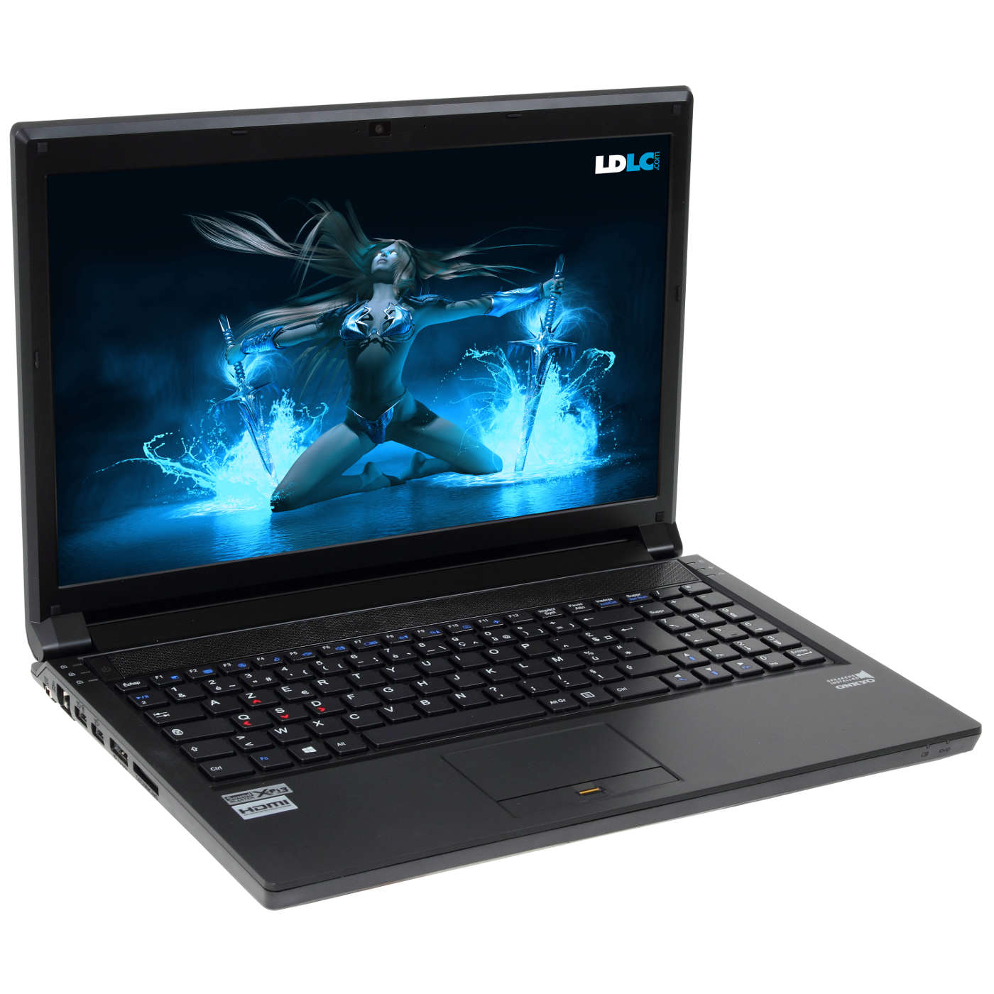 "PC portable LDLC Bellone GB3-I5-8-H10S-H7 Intel Core i5-4210M 8 Go SSHD 1 To 15.6"" LED NVIDIA GeForce GTX 860M Graveur DVD Wi-Fi N/Bluetooth Webcam Windows 7 Premium 64 bits"