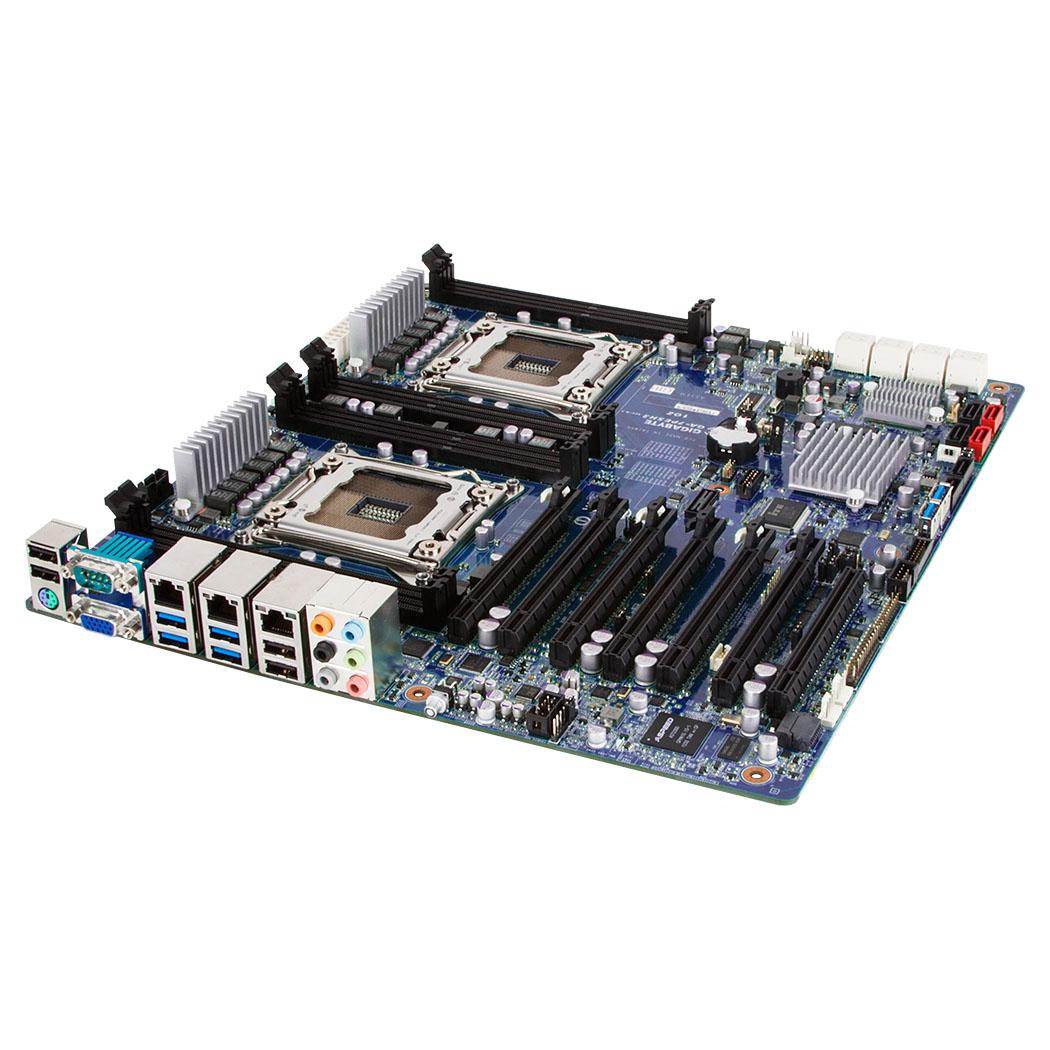 Carte mère Gigabyte GA-7PESH3 Carte mère SSI EEB 2x Socket 2011 Intel C602 - SAS/SATA 6Gb/s - 4x PCI Express 3.0 16x - Gigabit LAN