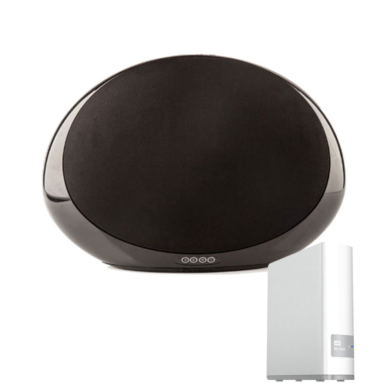 cabasse stream 1 noir western digital my cloud 2 to. Black Bedroom Furniture Sets. Home Design Ideas