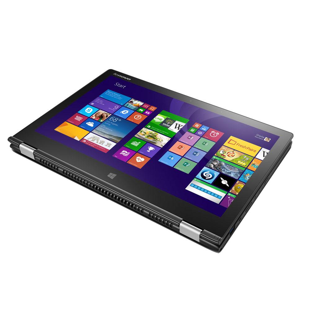lenovo yoga 2 13 pouces noir 59432160 pc portable. Black Bedroom Furniture Sets. Home Design Ideas