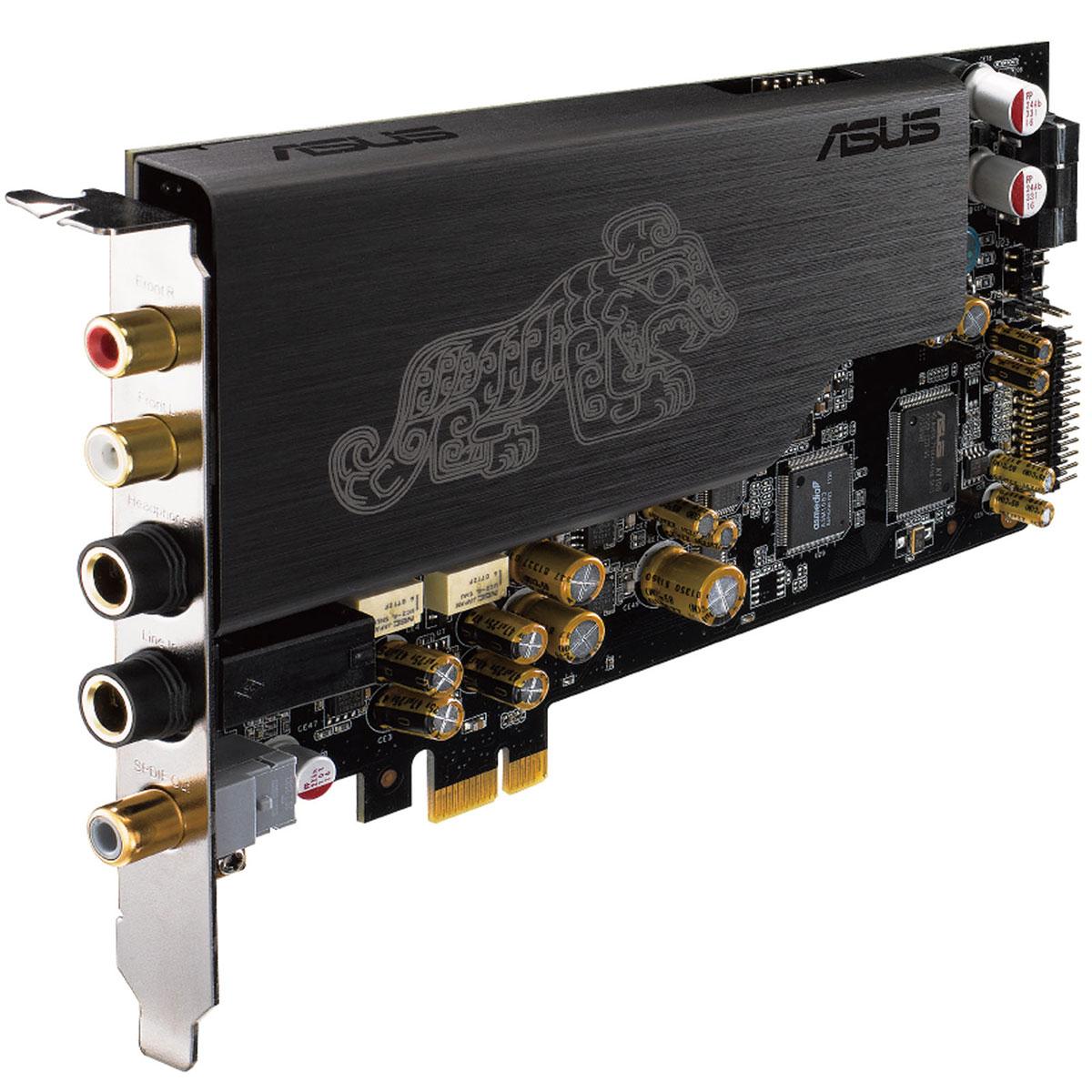 Carte son interne ASUS Essence STX II Carte son Hi-Fi Stéréo PCI-E 1x