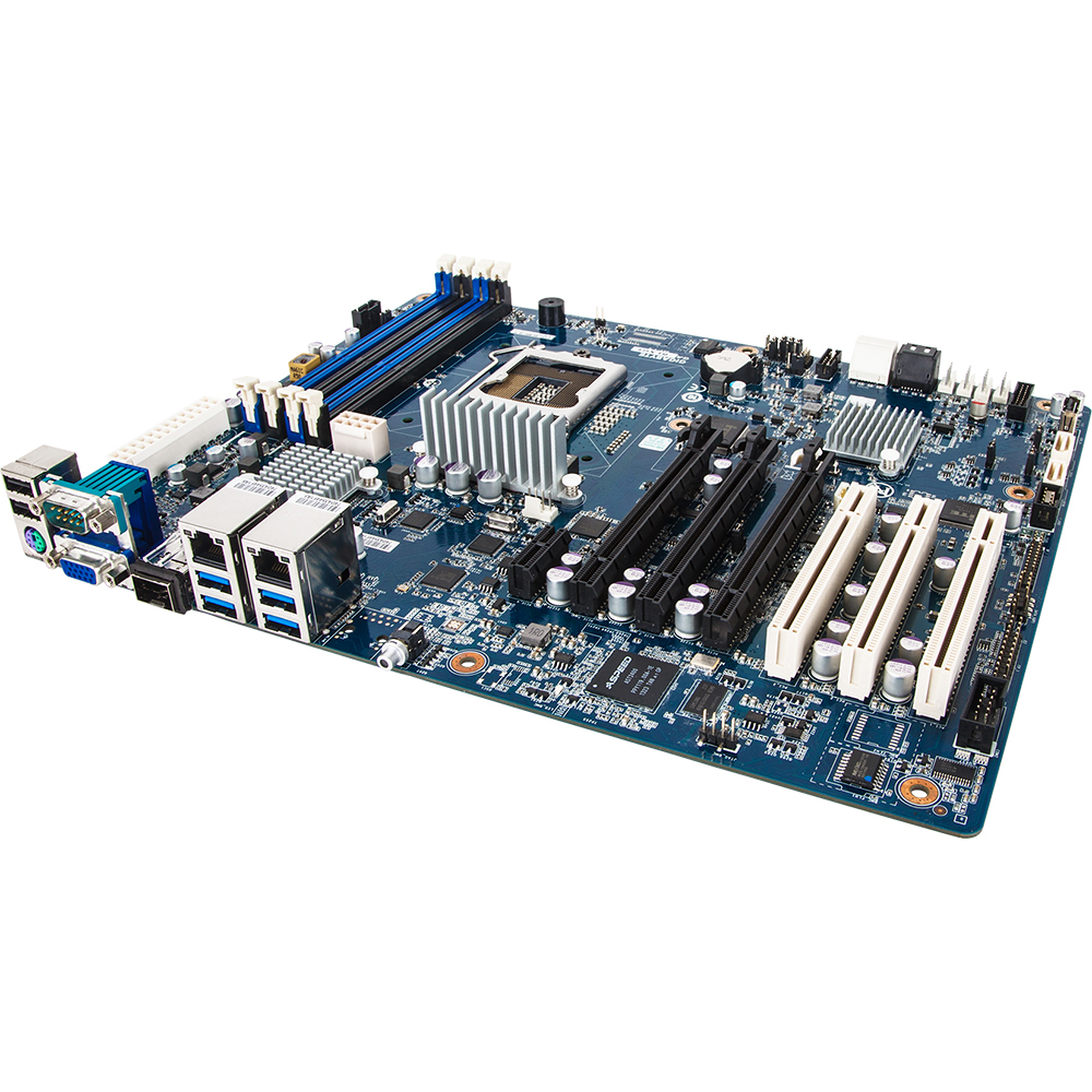 Carte mère Gigabyte GA-6LXGL Carte mère ATX Socket 1150 Intel C224 - SATA 6Gb/s - 3x PCI Express 3.0 16x