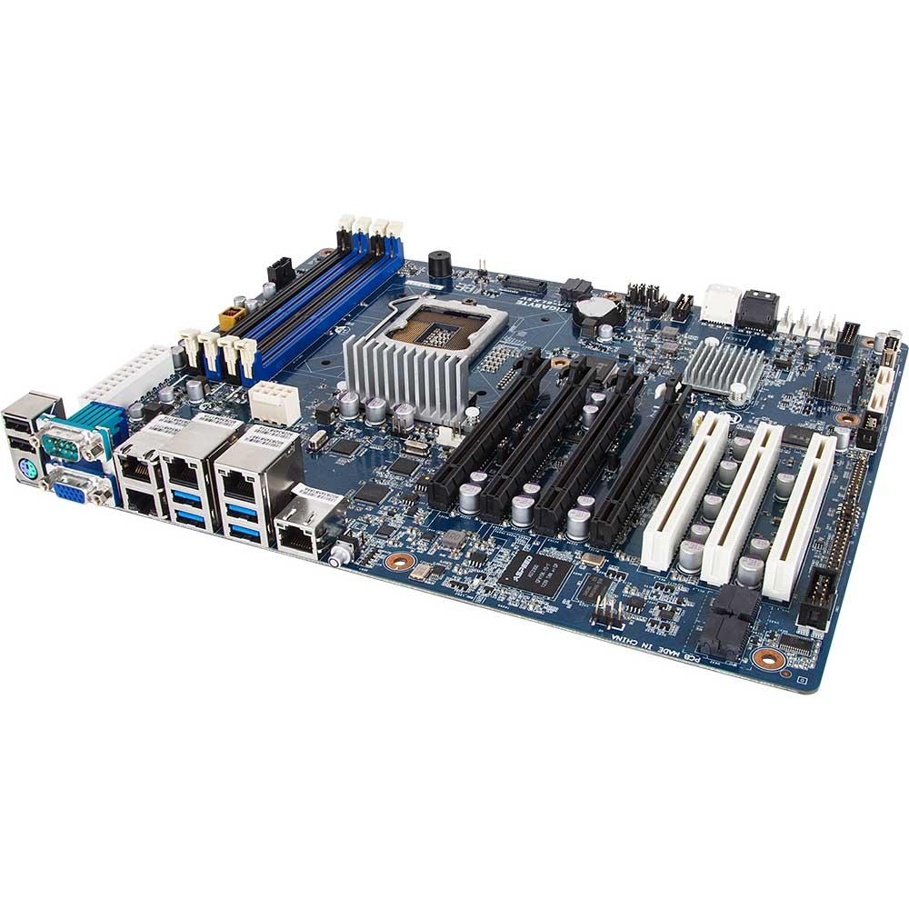 Carte mère Gigabyte GA-6LXSV Carte mère ATX Socket 1150 Intel C224 - SATA 6Gb/s - 3x PCI Express 3.0 16x
