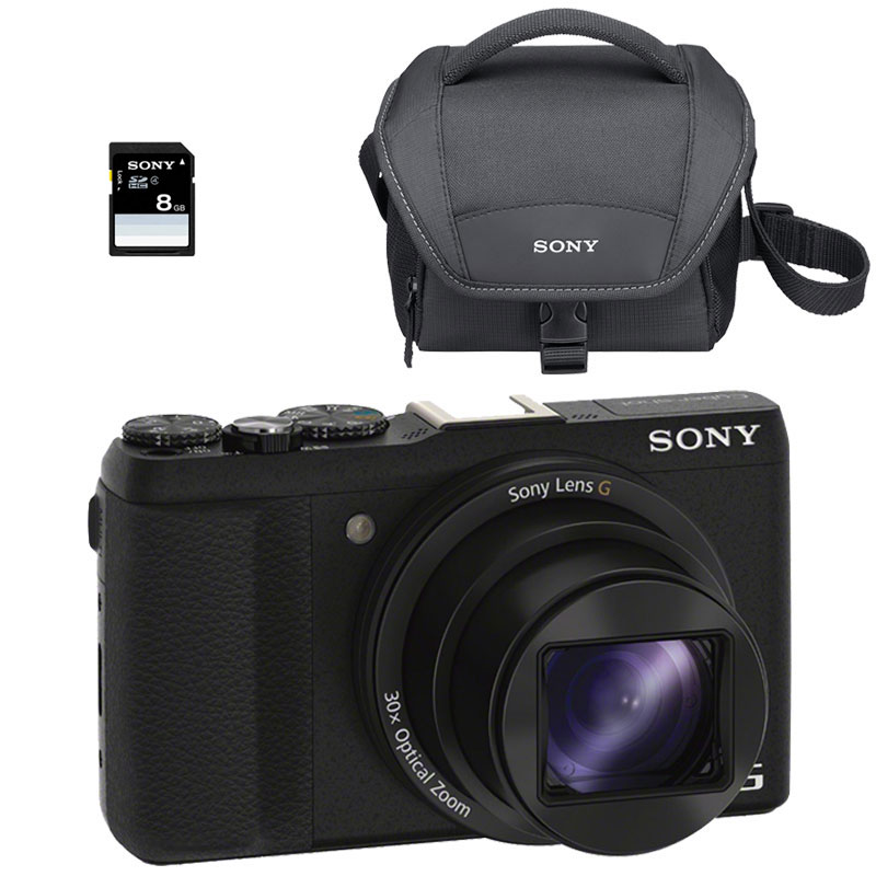 sony cybershot dsc hx60 pack noir appareil photo num rique sony sur. Black Bedroom Furniture Sets. Home Design Ideas