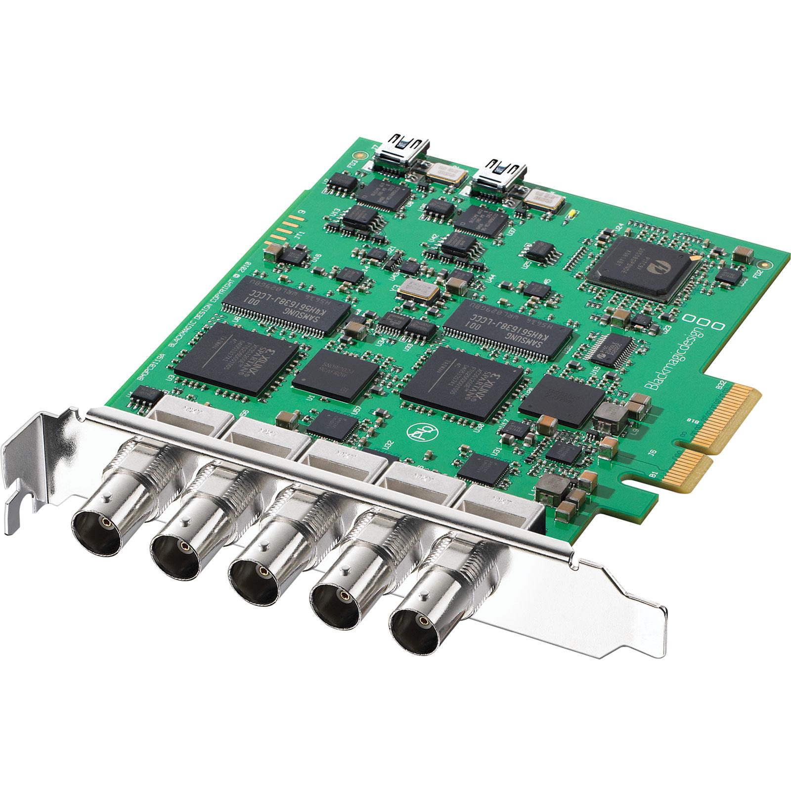Carte d'acquisition Blackmagic Design DeckLink Duo Carte d'acquisition Haute Définition PCI Express 4x