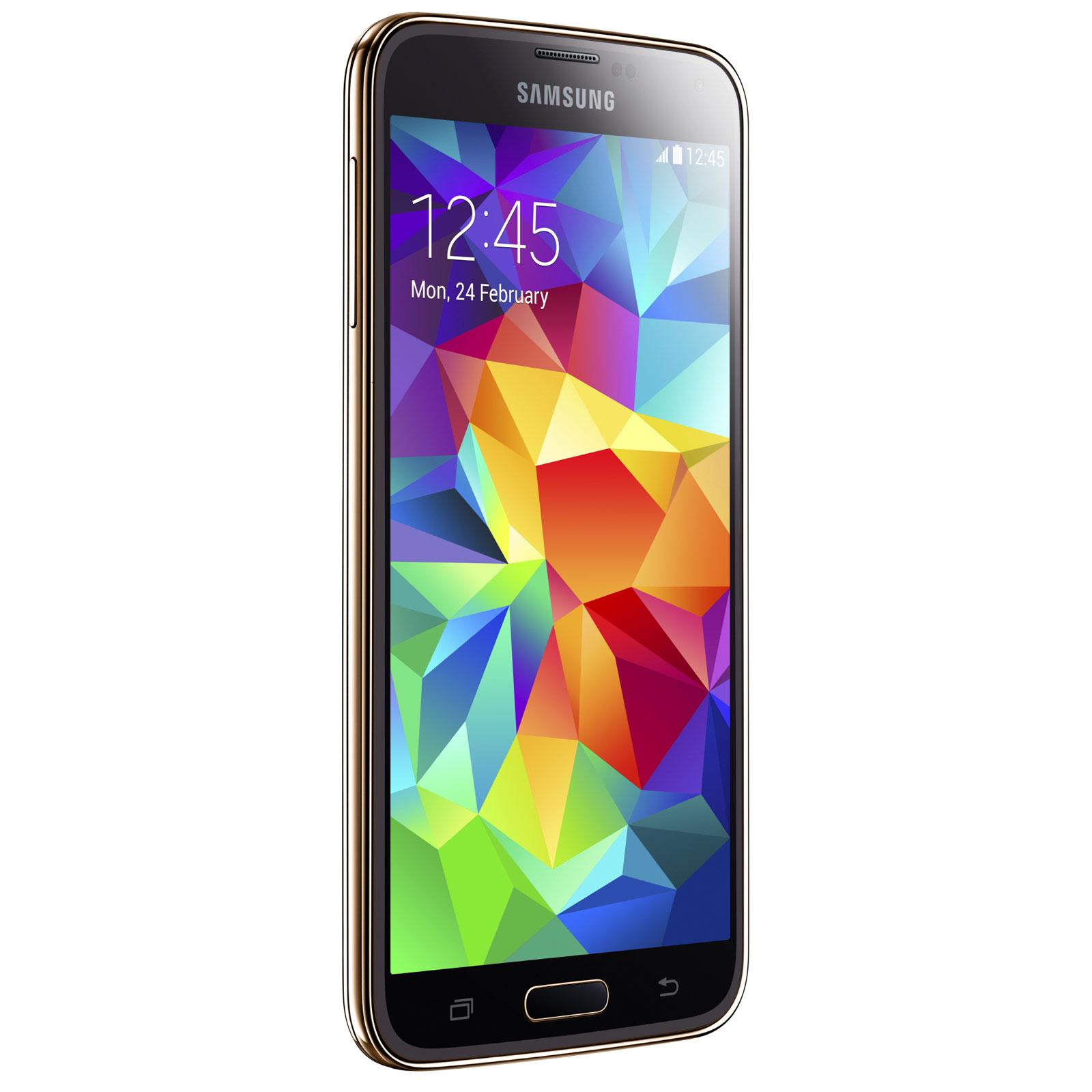 Samsung Galaxy S5 SM-G900 Or 16 Go - Mobile   smartphone Samsung sur ... 85ead3073ca2