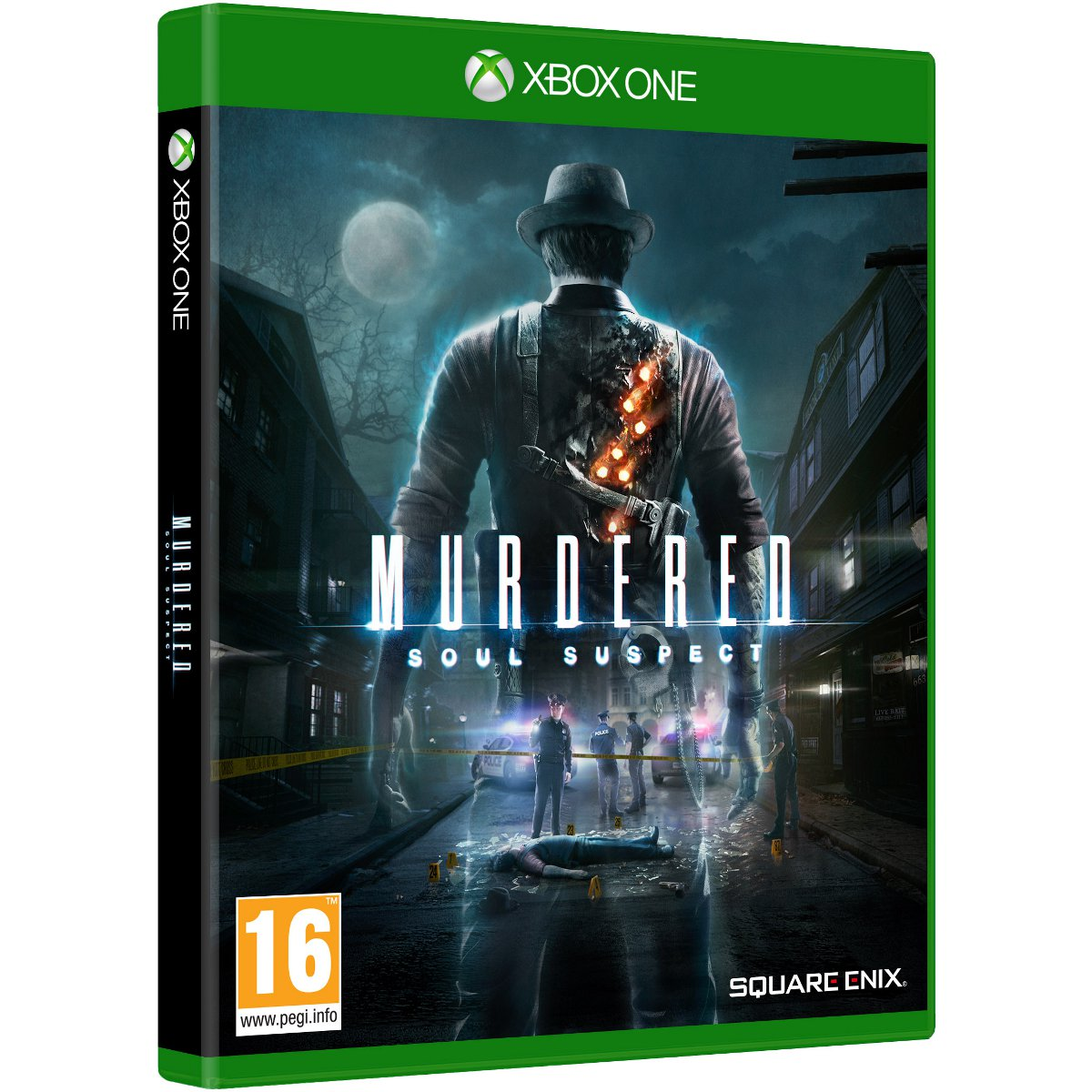 murdered soul suspect xbox one jeux xbox one square enix sur. Black Bedroom Furniture Sets. Home Design Ideas