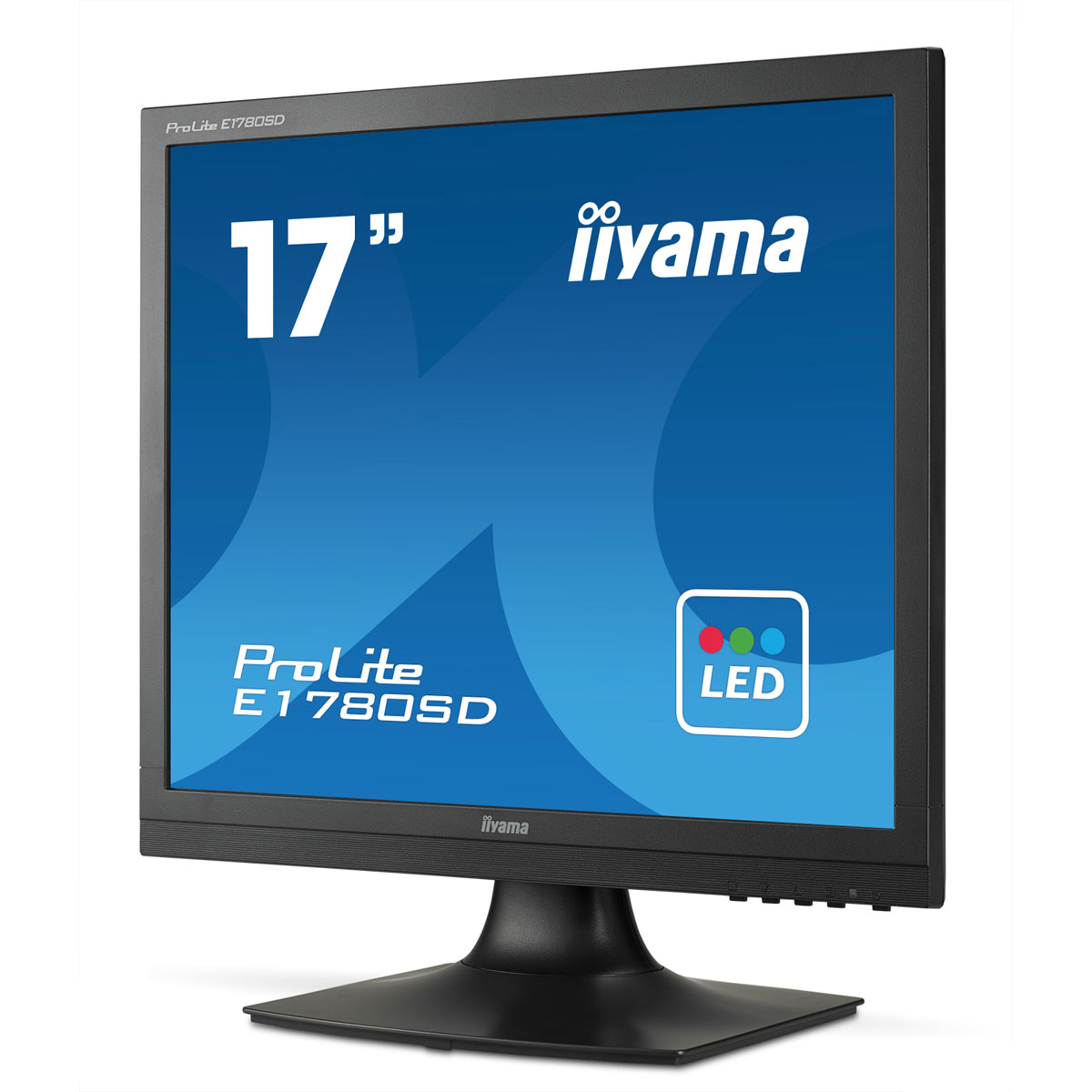 iiyama 17 led prolite e1780sd b1 ecran pc iiyama sur. Black Bedroom Furniture Sets. Home Design Ideas
