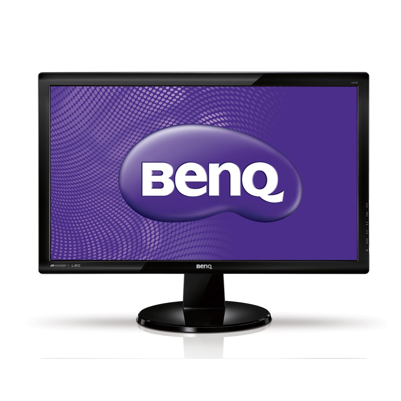 """Ecran PC BenQ 18.5"""" LED - GL955A 1366 x 768 pixels - 5 ms - Format large 16/9 - Noir (garantie constructeur 3 ans)"""