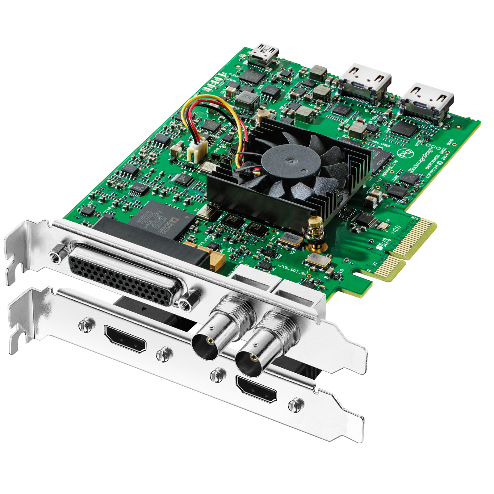 Carte d'acquisition Blackmagic Design DeckLink Studio 4K Carte d'acquisition 4K PCI Express