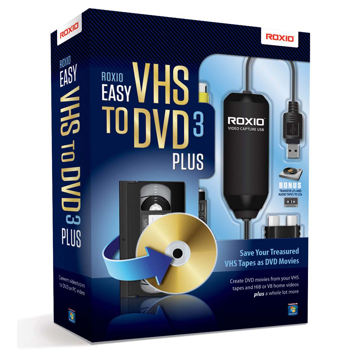 corel roxio easy vhs to dvd 3 plus logiciel image son corel sur. Black Bedroom Furniture Sets. Home Design Ideas