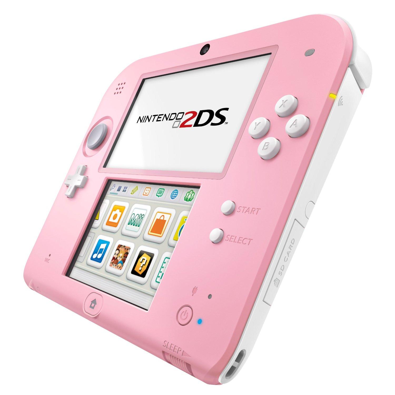 Nintendo 2ds rose nintendo sur - Console de jeux portable tactile ...