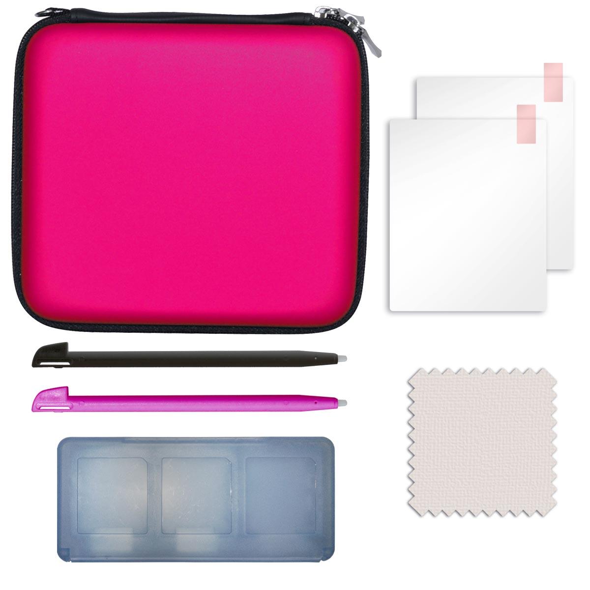 Dea factory starter pack rose nintendo 2ds accessoires for Housse 2ds pokemon