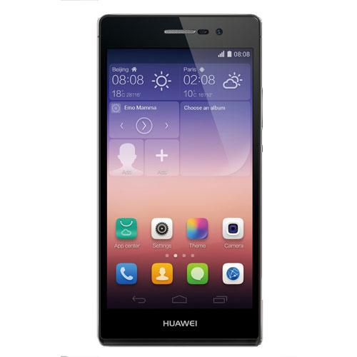 """Mobile & smartphone Huawei Ascend P7 Noir Smartphone 4G-LTE avec écran tactile Full HD 5"""" sous Android 4.4"""