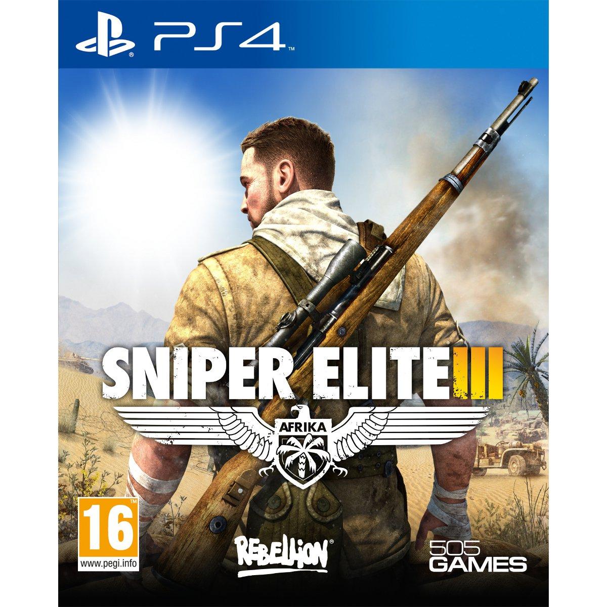sniper elite iii ps4 jeux ps4 505 games sur. Black Bedroom Furniture Sets. Home Design Ideas