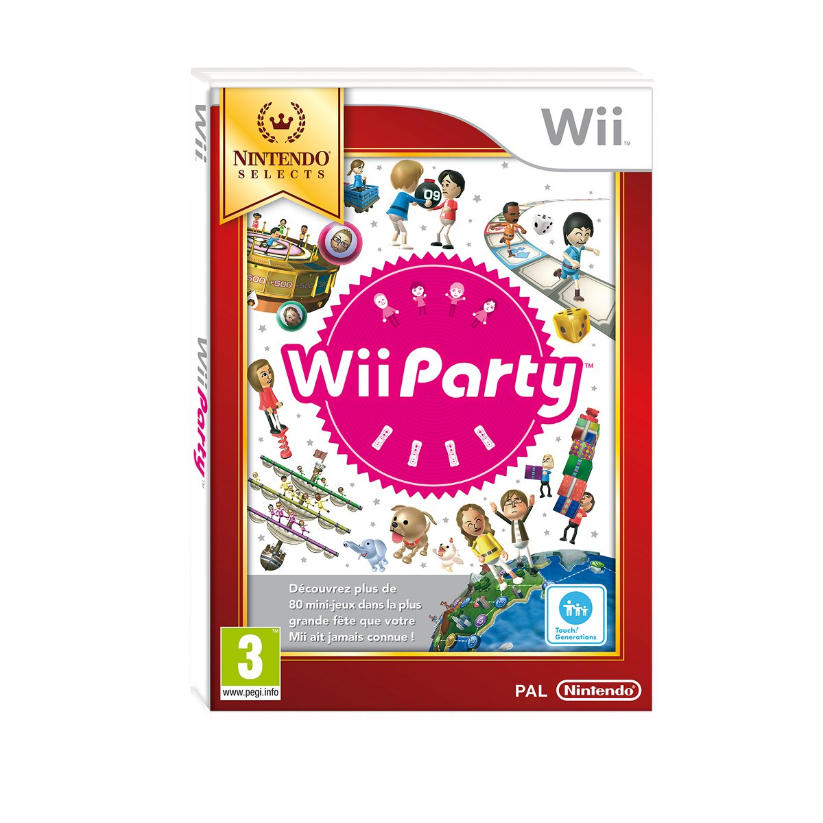 LDLC.com Wii Party Nintendo Selects (Wii)  Wii Party Nintendo Selects (Wii)
