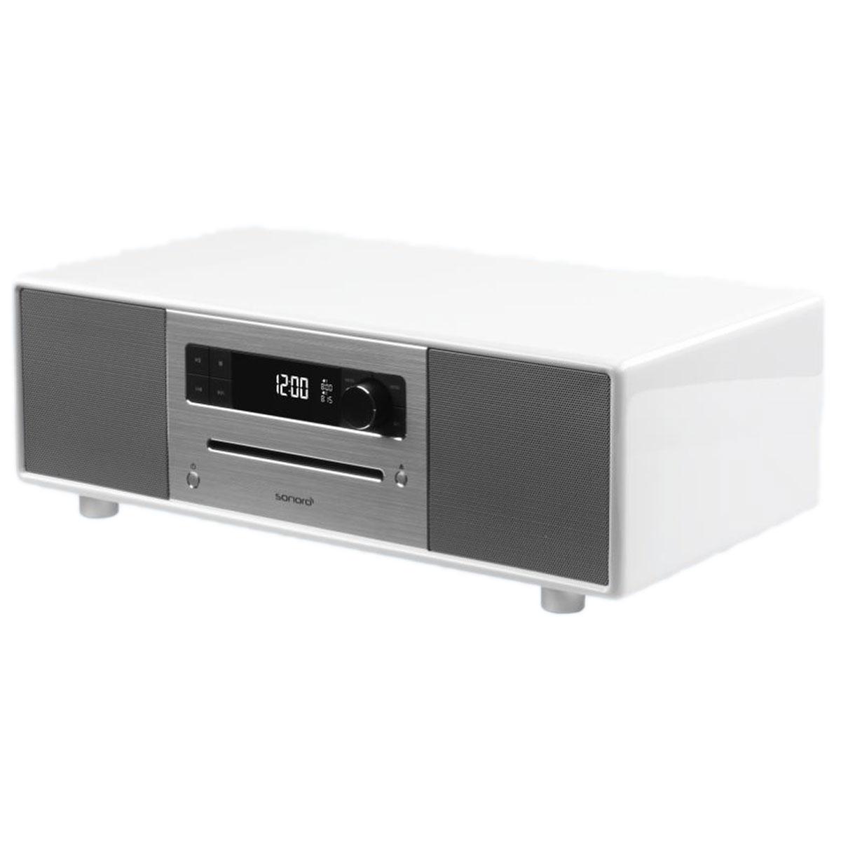 sonoro st r o blanc radio radio r veil sonoro sur. Black Bedroom Furniture Sets. Home Design Ideas