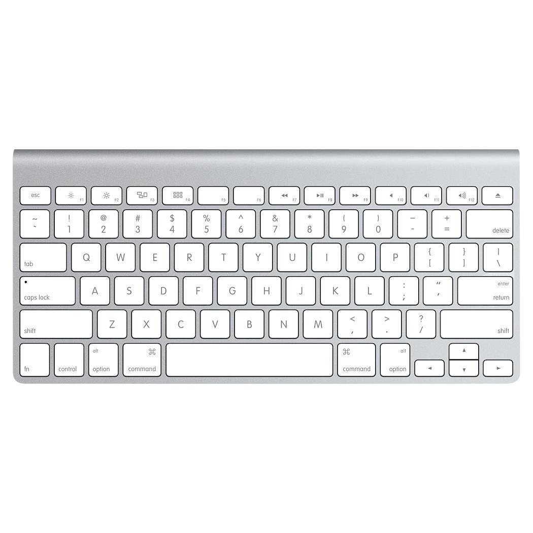 apple wireless keyboard mc184lb b clavier pc apple sur. Black Bedroom Furniture Sets. Home Design Ideas