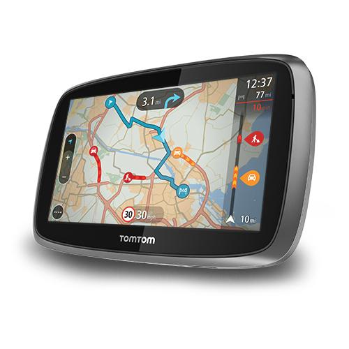 """GPS TomTom GO 500 GPS 45 pays d'Europe Ecran 5"""" entièrement interactif - Cartographie gratuite à vie"""