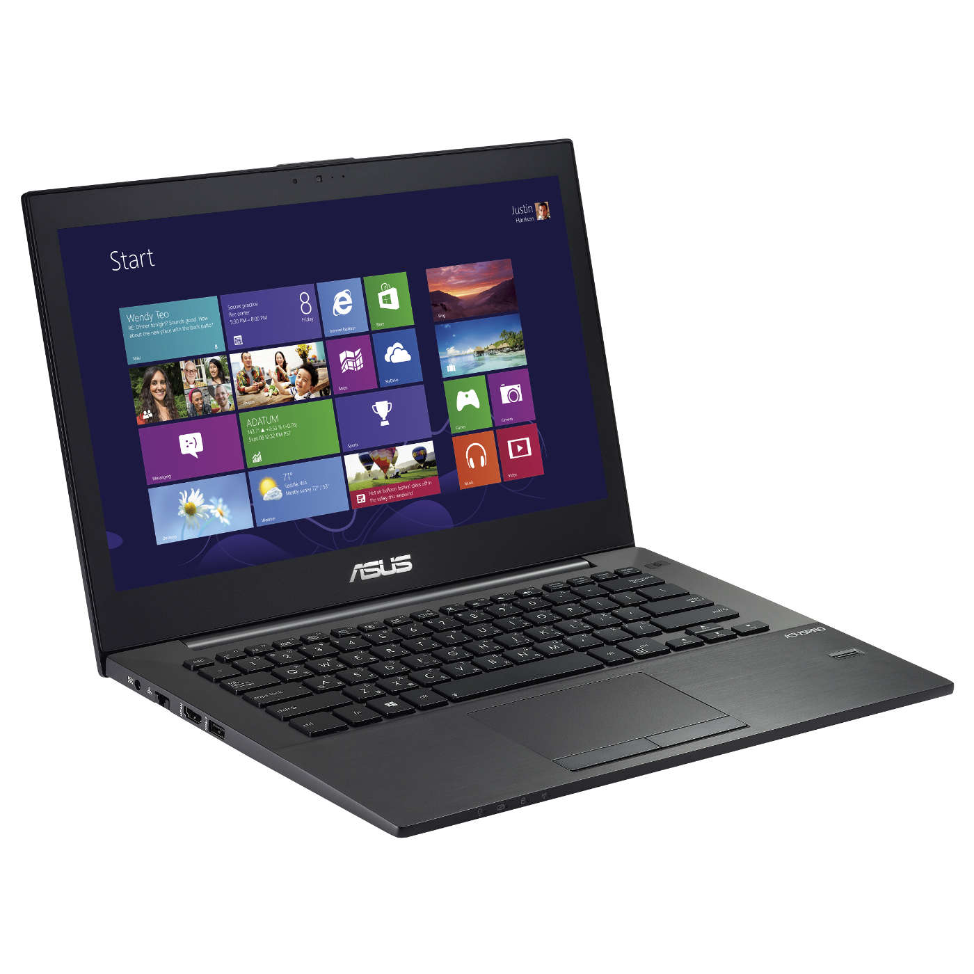 "PC portable ASUS BU401LA-CZ084G Intel Core i5-4285U 6 Go SSHD 500 Go 14"" LED Wi-Fi N/Bluetooth Webcam Windows 7 Professionnel 64 bits + Windows 8.1 Pro 64 bits (garantie constructeur 2 ans)"