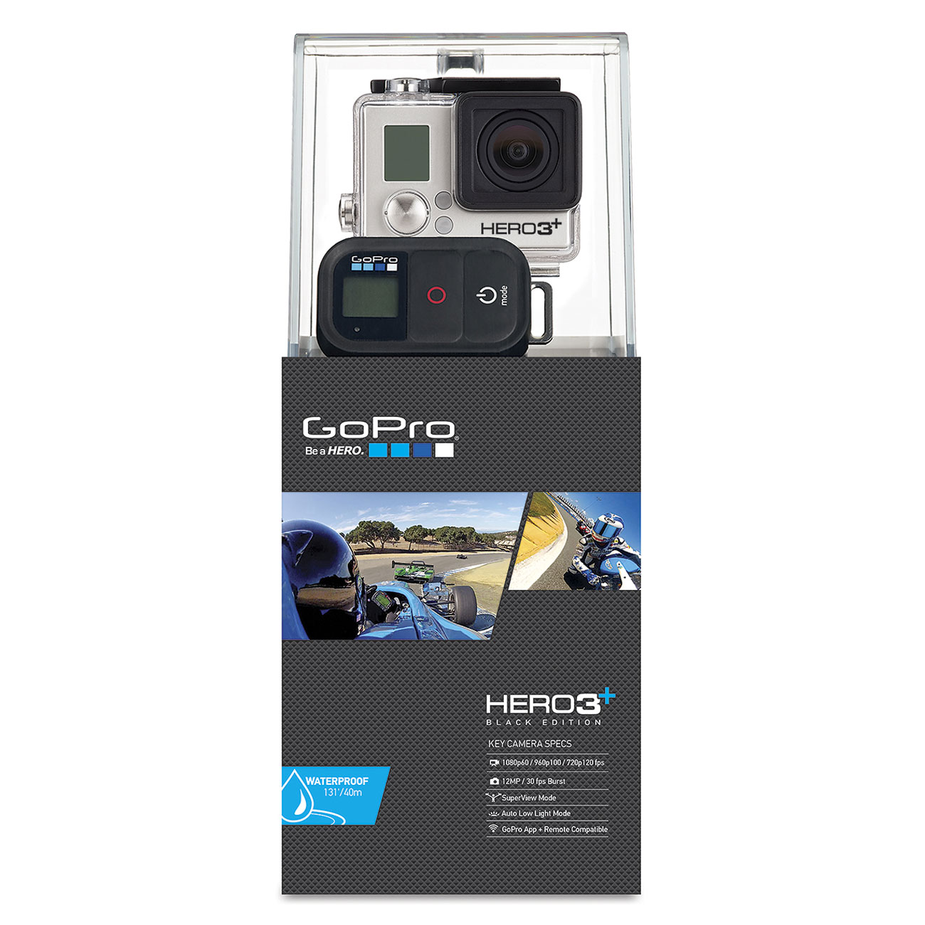 gopro hero 3 black edition motorsport cam ra sportive gopro sur. Black Bedroom Furniture Sets. Home Design Ideas