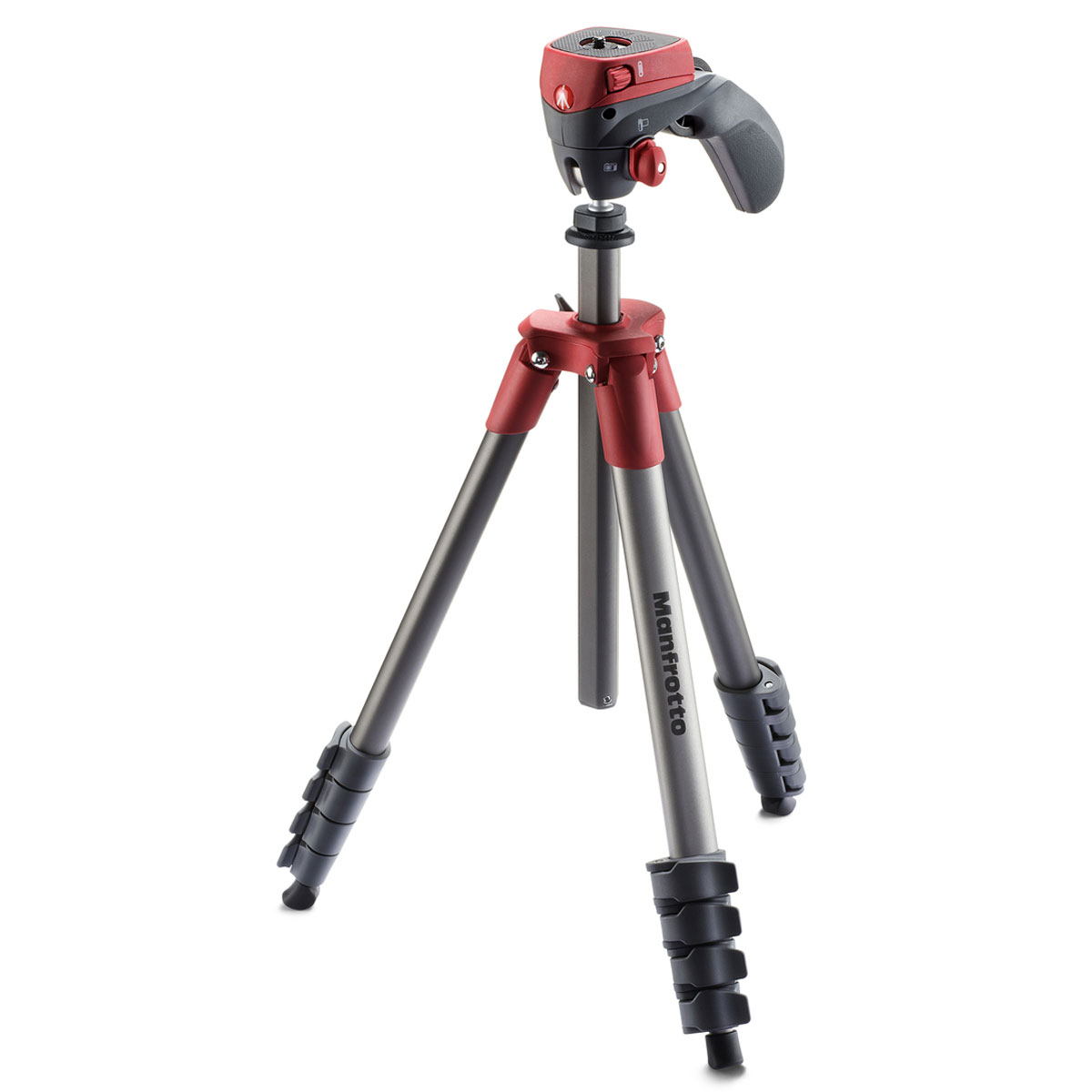manfrotto compact action mkcompactacn rouge tr pied. Black Bedroom Furniture Sets. Home Design Ideas