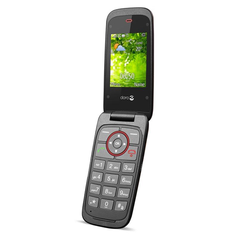 Doro Liberto 650 Rouge Mobile Amp Smartphone Doro Sur Ldlc Com