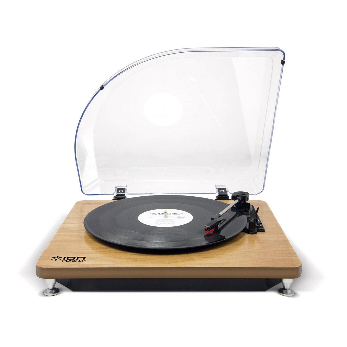 ion audio pure lp wood ion audio sur. Black Bedroom Furniture Sets. Home Design Ideas