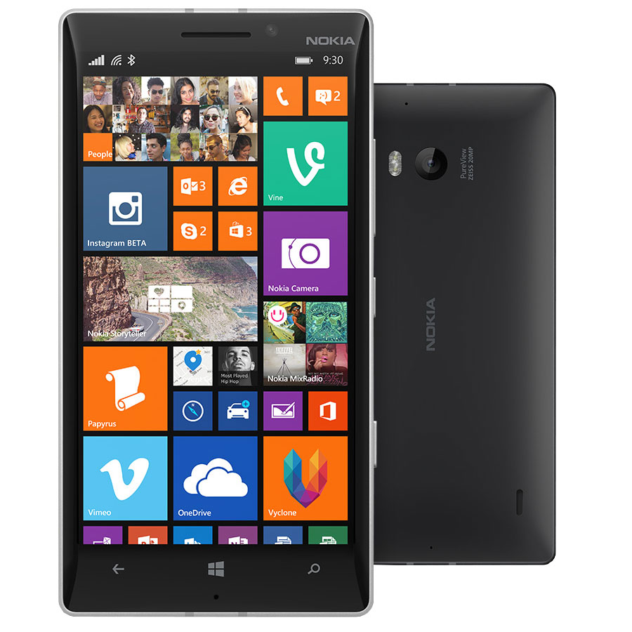 nokia lumia 930 noir mobile smartphone nokia sur. Black Bedroom Furniture Sets. Home Design Ideas