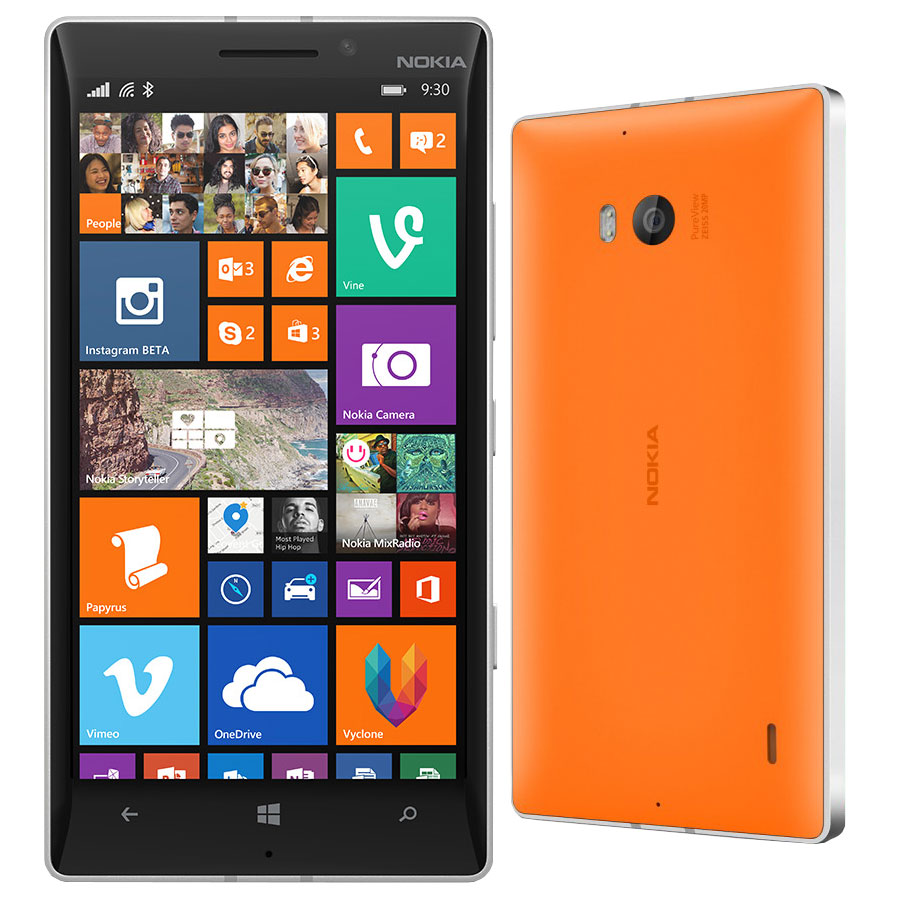 nokia lumia 930 orange mobile smartphone nokia sur. Black Bedroom Furniture Sets. Home Design Ideas