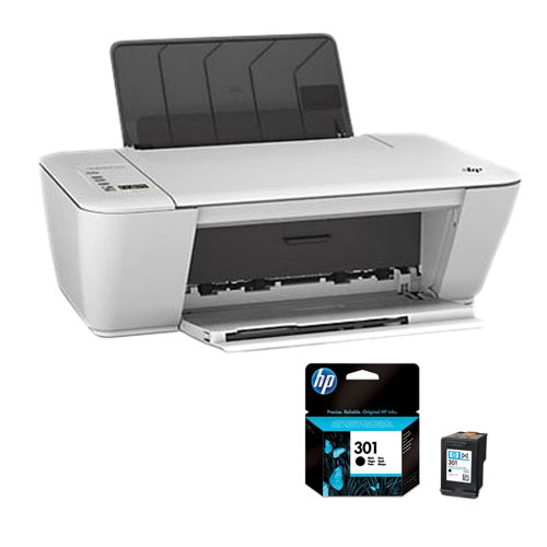 hp deskjet 2542 aio grise hp 301 noir ch561ee. Black Bedroom Furniture Sets. Home Design Ideas
