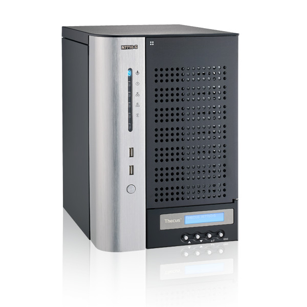 Serveur NAS Thecus N7710-G Boîtier externe NAS 7 baies - Port Ethernet (Alimentation 300W)