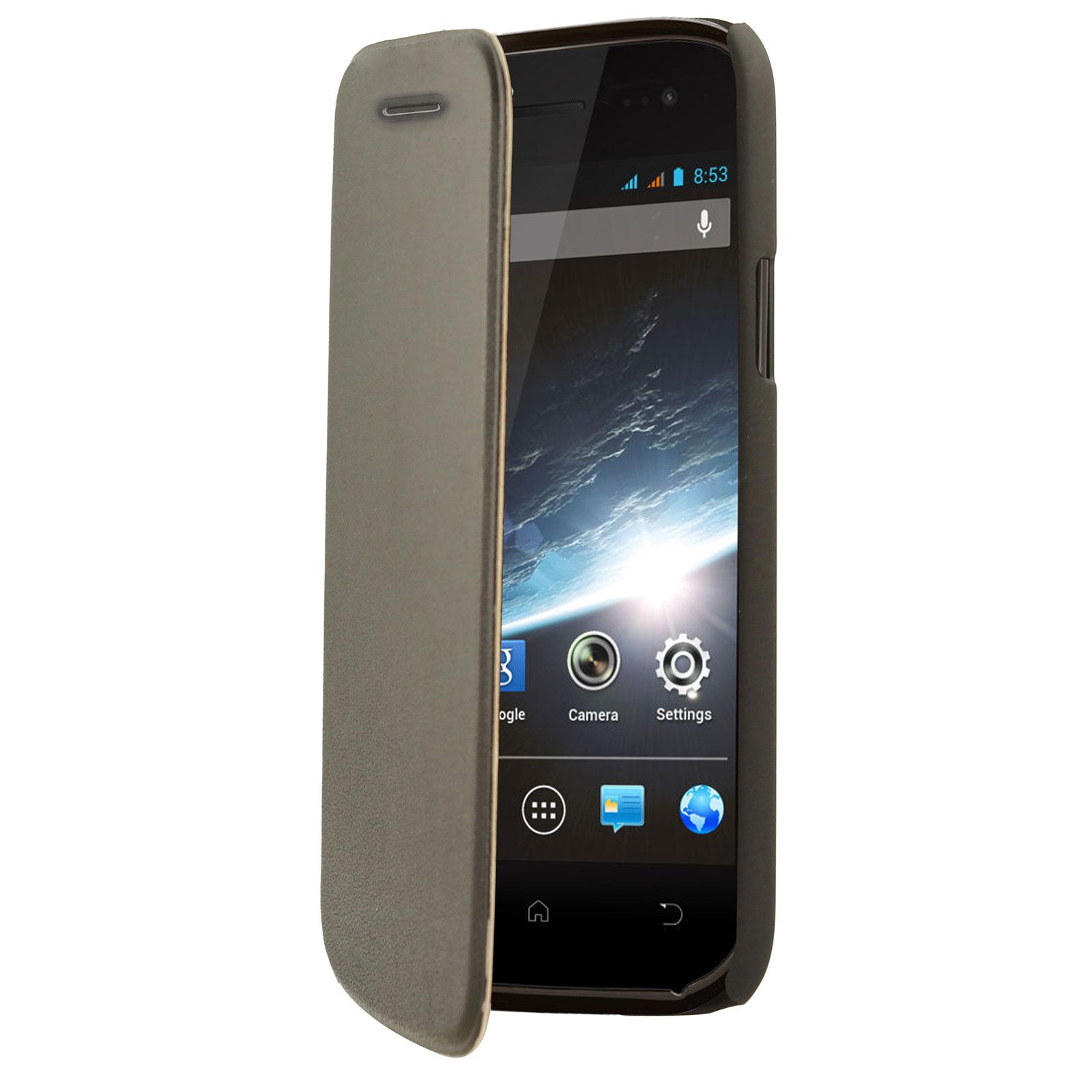 Etui téléphone Swiss Charger Etui Folio Slim Noir Wiko Cink Slim 2 Etui de protection pour Wiko Cink Slim 2