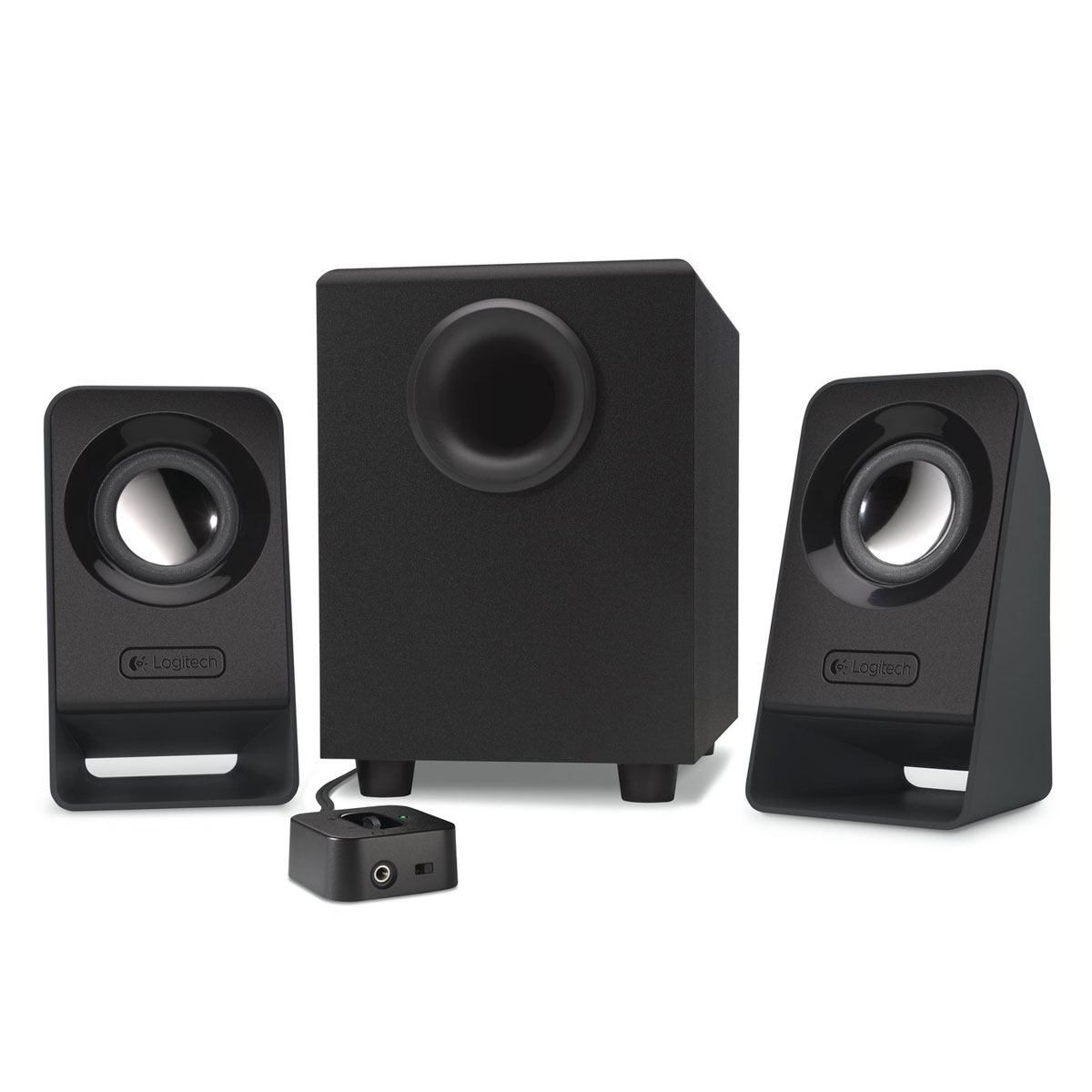 logitech multimedia speakers z213 enceinte pc logitech sur. Black Bedroom Furniture Sets. Home Design Ideas