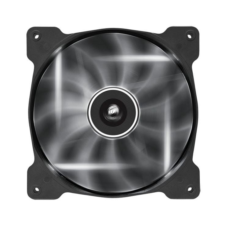Ventilateur boîtier Corsair Air Series SP140 White High Static Pressure Ventilateur de boîtier 140 mm avec LEDs blanches