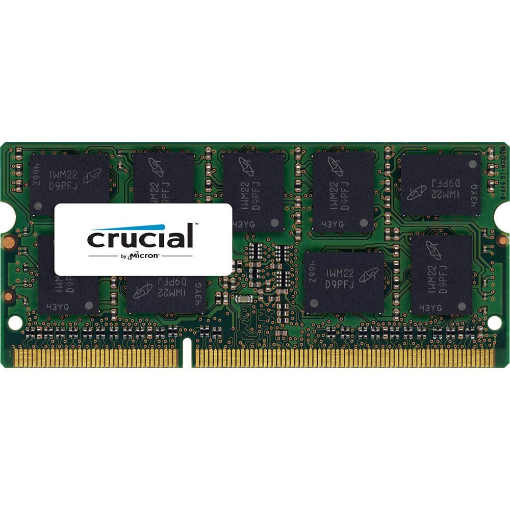 Mémoire PC Crucial SO-DIMM 8 Go DDR3L ECC 1600 MHz CL11 RAM SO-DIMM DDR3 PC3-12800 - CT102472BF160B (garantie à vie par Crucial)