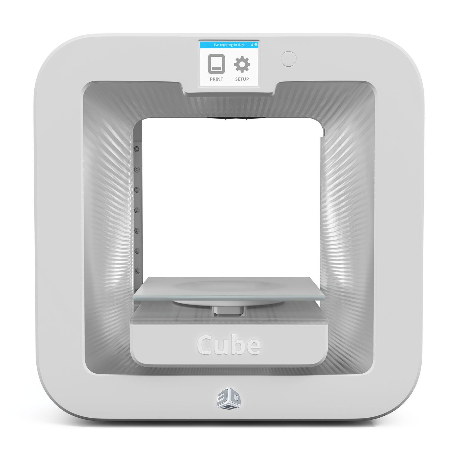 3d systems cube 3 blanche imprimante 3d 3d systems sur. Black Bedroom Furniture Sets. Home Design Ideas