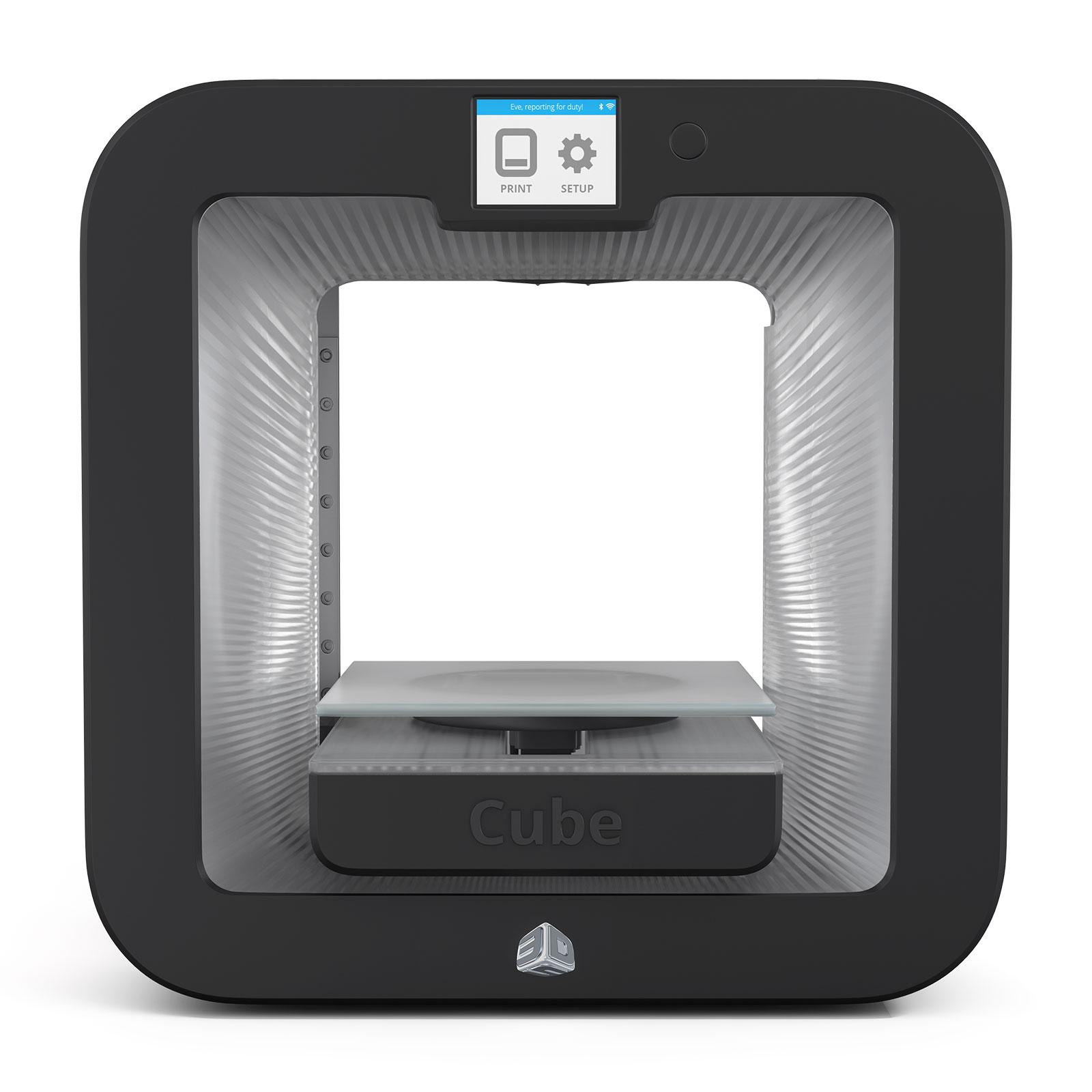 3d systems cube 3 grise imprimante 3d 3d systems sur. Black Bedroom Furniture Sets. Home Design Ideas