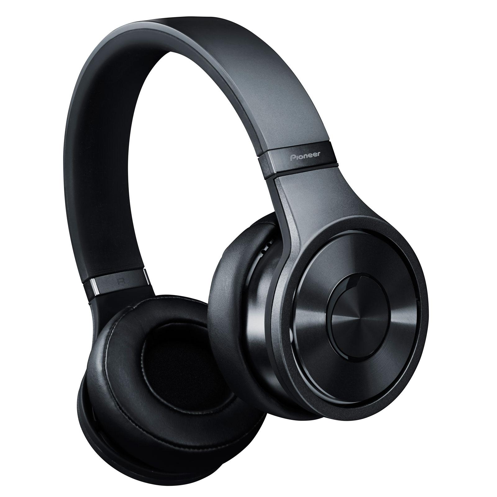 Casque Pioneer SE-MX9 Noir Casque Circum-auriculaire avec télécommande et microphone - Superior Club Sound