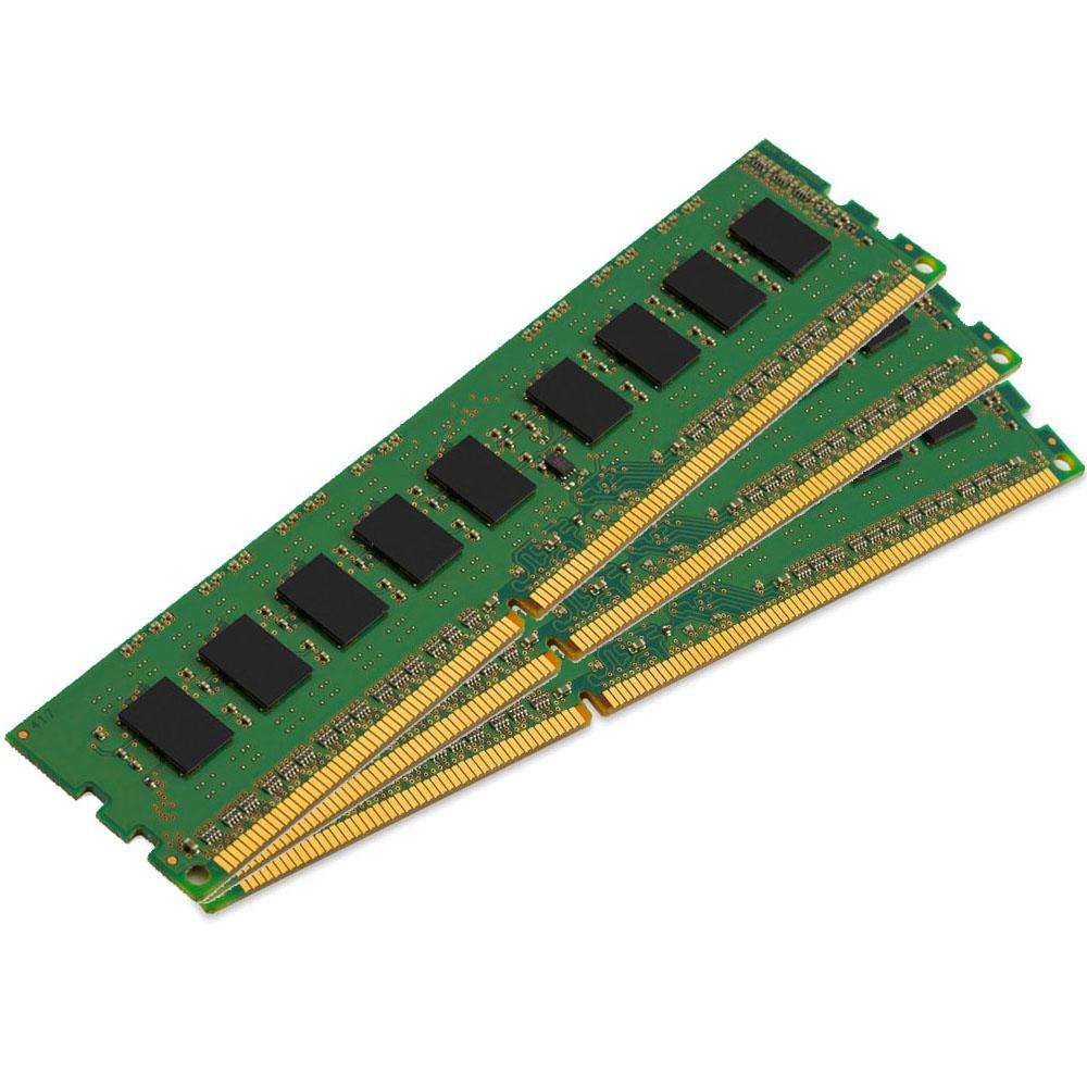Mémoire PC Kingston ValueRAM 24 Go (3 x 8 Go) DDR3L 1600 MHz ECC CL11 DR X8 (Intel) Kit Triple Channel RAM DDR3 PC3-12800 ECC - KVR16R11S8K3/12I (garantie à vie par Kingston)