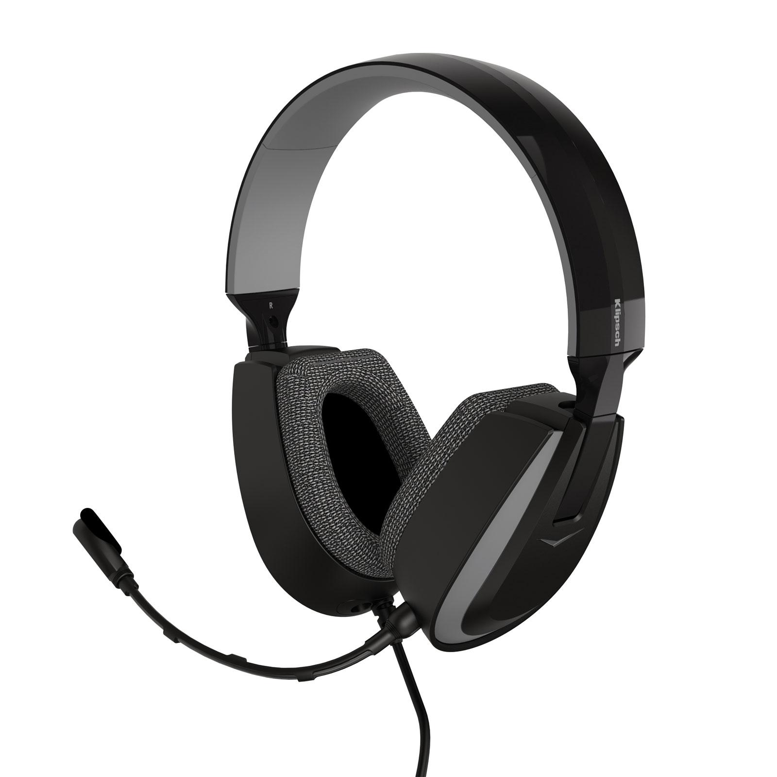klipsch kg 200 pro audio wired gaming headset micro casque klipsch sur. Black Bedroom Furniture Sets. Home Design Ideas