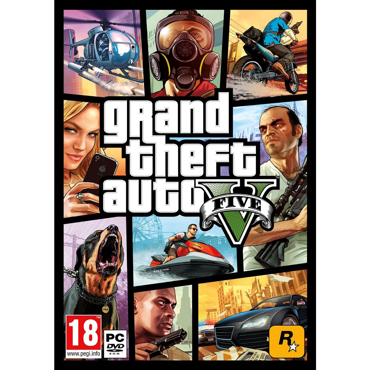 Jeux PC Grand Theft Auto V - GTA 5 (PC) Grand Theft Auto V - GTA 5 (PC)