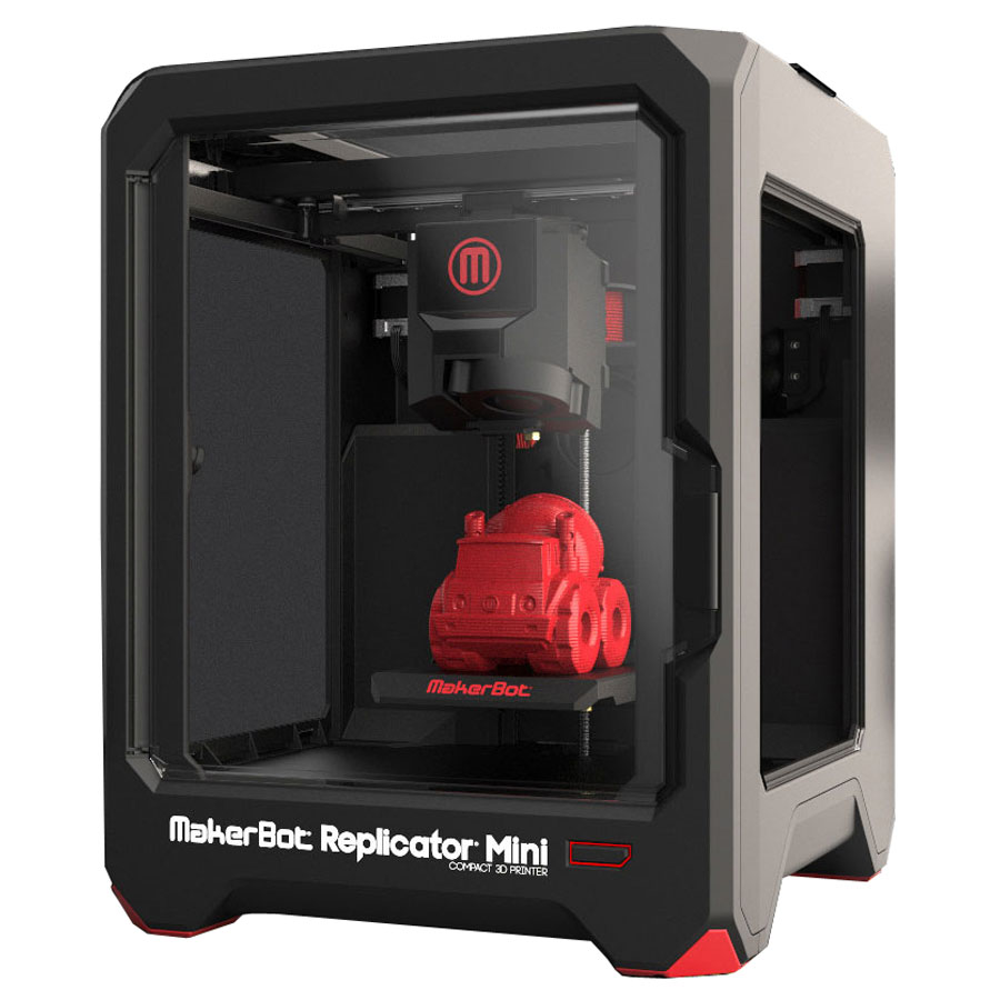 makerbot replicator mini imprimante 3d makerbot sur. Black Bedroom Furniture Sets. Home Design Ideas