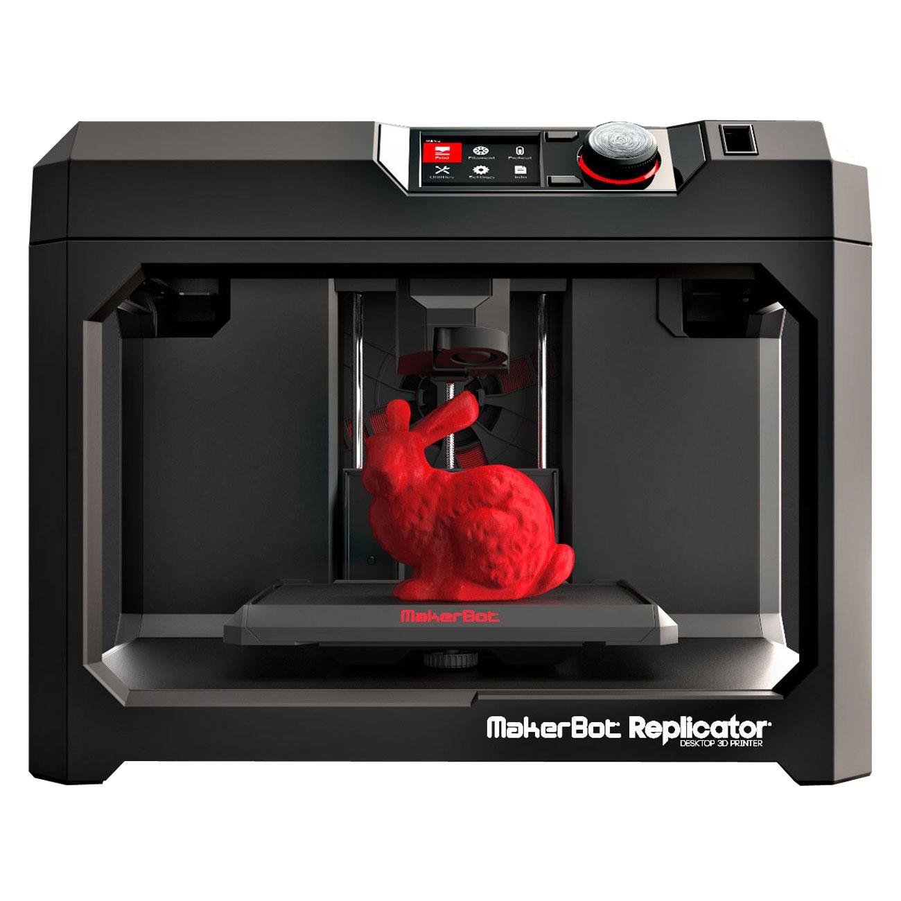 makerbot replicator 5th imprimante 3d makerbot sur. Black Bedroom Furniture Sets. Home Design Ideas