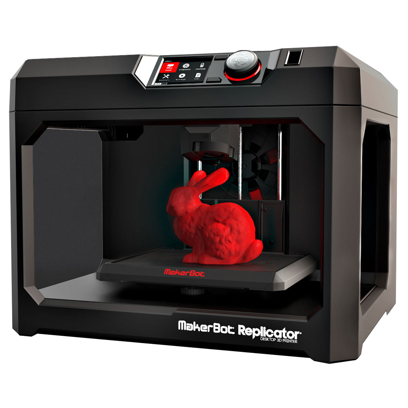 makerbot replicator 5th imprimante 3d makerbot sur. Black Bedroom Furniture Sets. Home Design Ideas