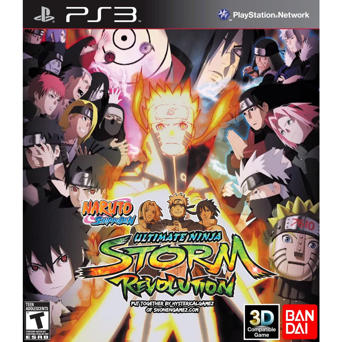 LDLC.com Naruto Shippuden : Ultimate Ninja Storm - Revolution (PS3) Naruto Shippuden : Ultimate Ninja Storm - Revolution (PS3)