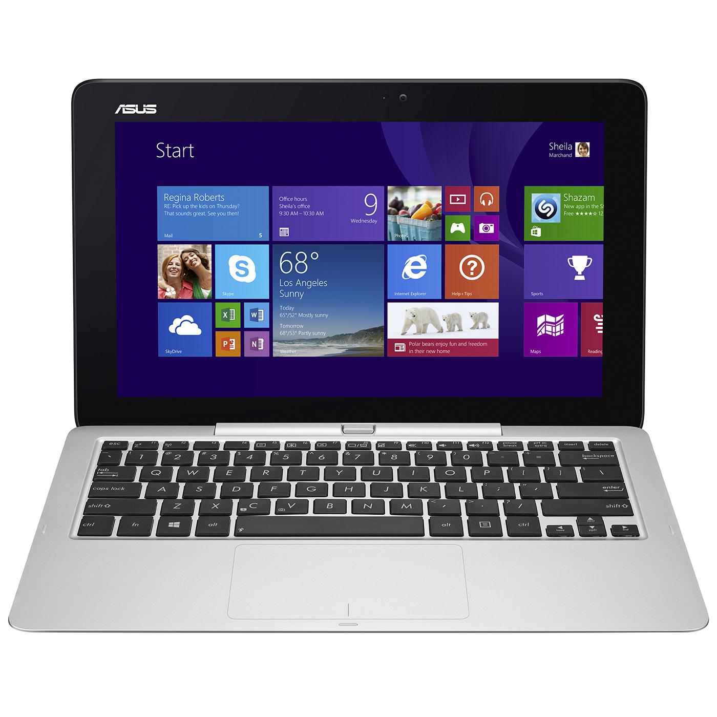 asus transformer book t200ta cp003h avec clavier tablette tactile asus sur. Black Bedroom Furniture Sets. Home Design Ideas