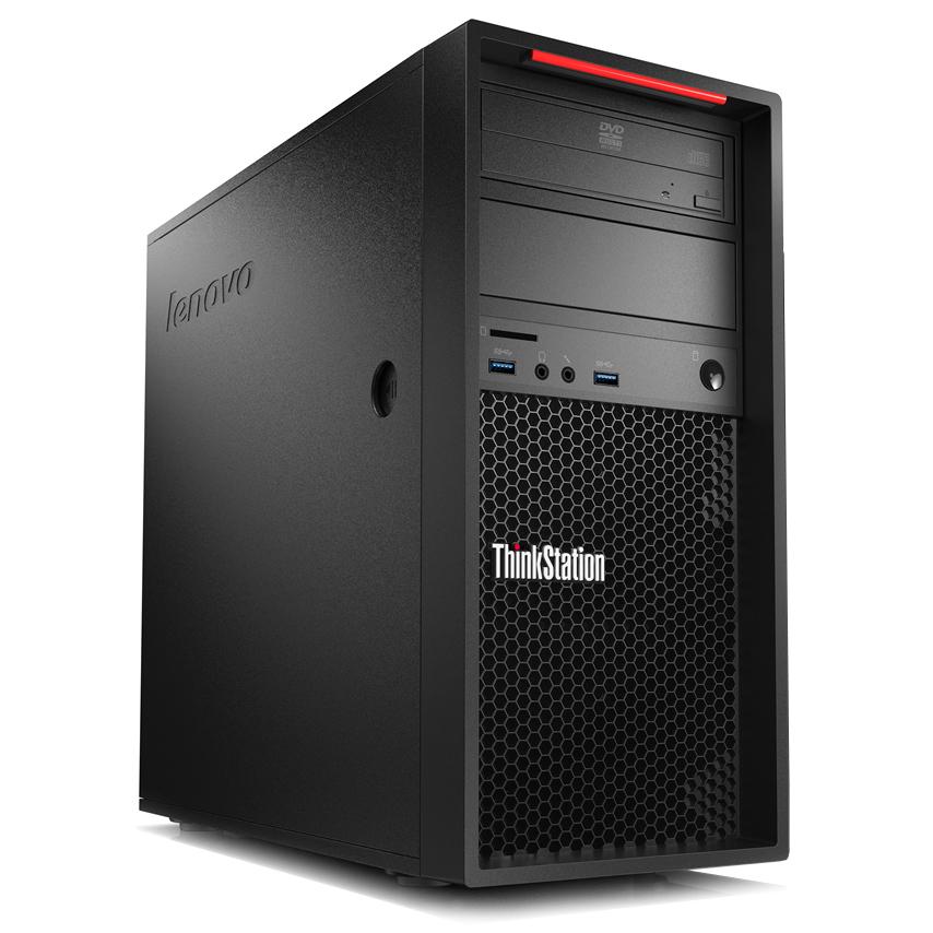 Lenovo thinkstation p300 30ah001afr pc de bureau lenovo sur - Ordinateur de bureau windows 7 pro ...
